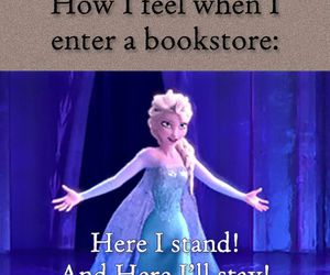 books, bookstore, and frozen image