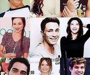 scott mccall, allison argent, and isacc lahey image