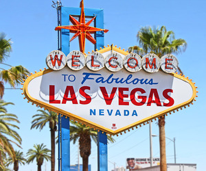 Las Vegas, Nevada, and welcome image