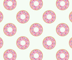 colorful, donuts, and pink image