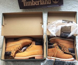 timberland, boots, and style image
