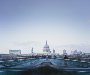 architecture, bridge, and london image