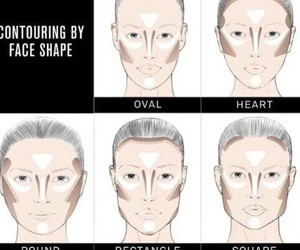 makeup, face, and contouring image