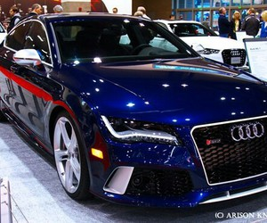 audi, blue, and gently image