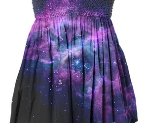 dress and galaxy image