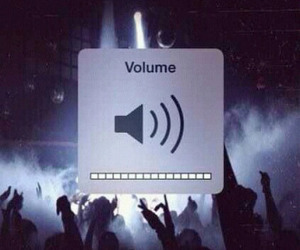 music, volume, and party image