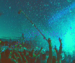 party, music, and rave image