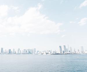 blue, city, and sky image
