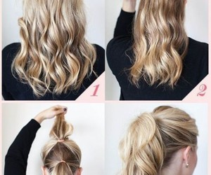 how to and make a ponytail image