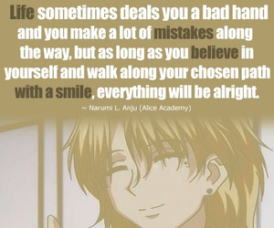 anime, quote, and quotes image