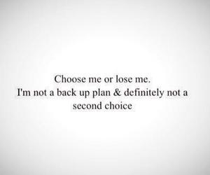 choose, lose, and plan image