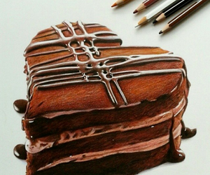chocolate and drawing image