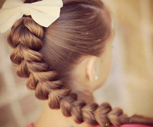 beauty, hair style, and hairstyles image