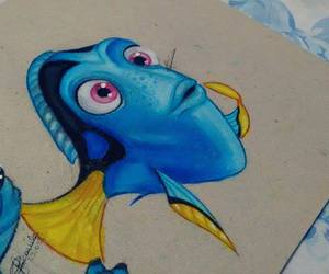dory, drawing, and fan art image