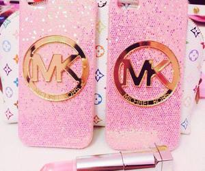 lipstick, mk, and pink image