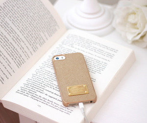 book, iphone, and beautiful image