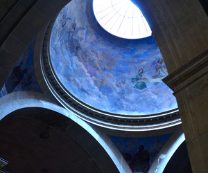 blue, architecture, and aesthetic image