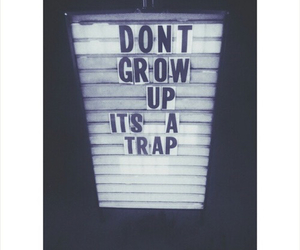grow up and trap image