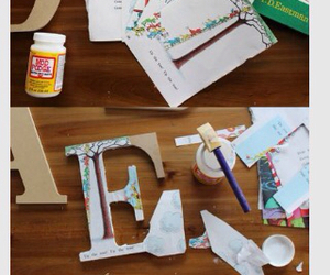 diy and letters image