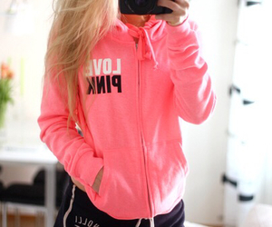 goal, hollister, and pink image