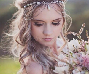 beautiful, bouquet, and fairytale image