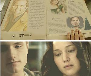 the hunger games and everlark image
