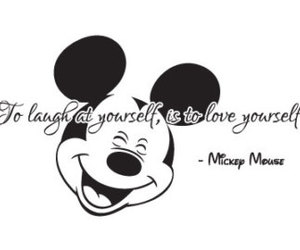black and white, disney, and mickey mouse image