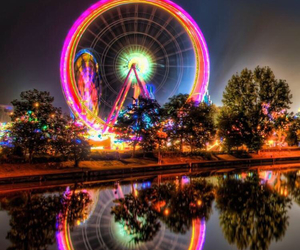 background, phone, and ferriswheel image