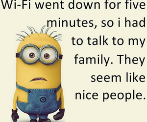 funny, sayings, and minion image