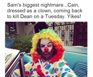 supernatural, cain, and sam winchester image