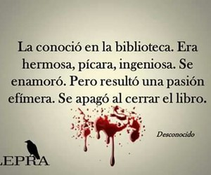 book, frases, and biblioteca image