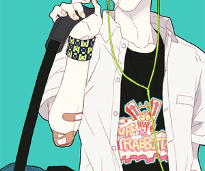 noiz, dramatical murder, and anime image