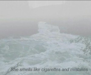 cigarette, grunge, and mistakes image