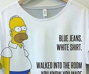 blue, homer, and white image