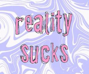 wallpaper and reality sucks image