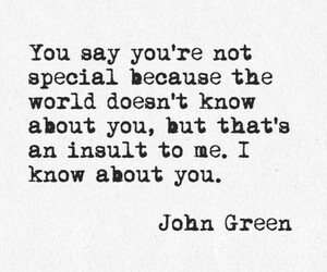 john green, quotes, and special image