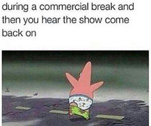 funny, patrick, and lol image