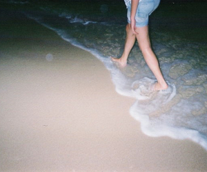 beach, grunge, and legs image