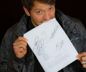 supernatural and misha collins image