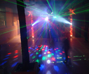 colors, lasers, and party image
