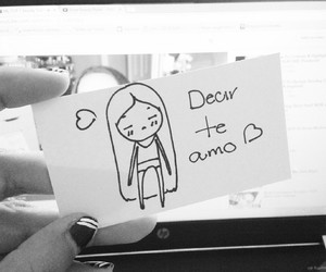 amo, amor, and doodles image