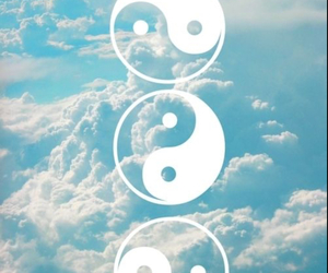 beautiful, clouds, and peace image