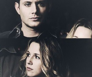 dean winchester, jo harvelle, and dean image