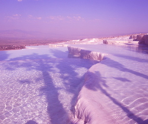 purple, ice, and pastel image