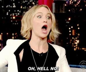 funny, Jennifer Lawrence, and otp image