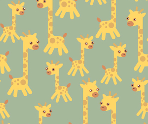 giraffe, background, and wallpaper image