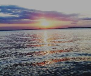 sea, sky, and nature image