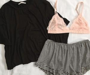 black, sleep, and bralette image