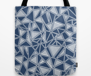 abstract, blue, and geometric image