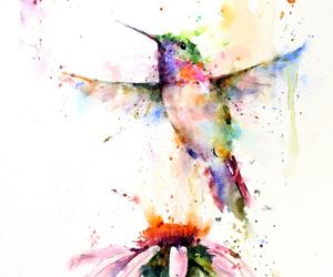acuarela, bird, and life image